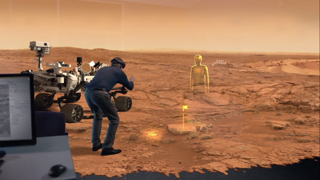 How To Explore Mars By VR