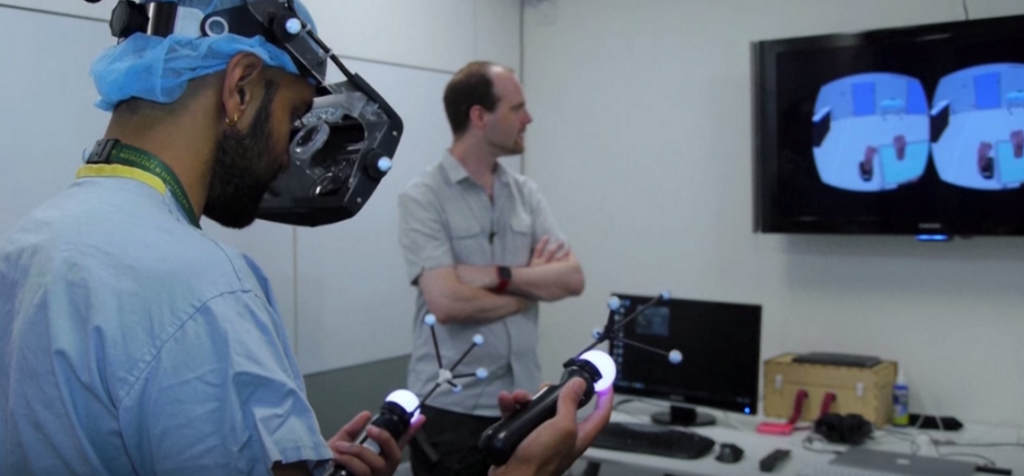 Virtual Reality For Surgeons' Training