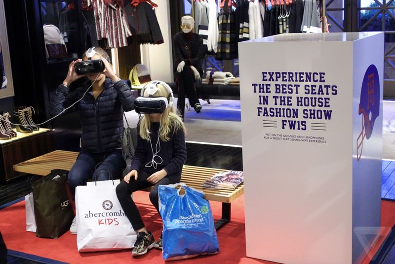 Tommy Hilfiger's VR Catwalk Experience