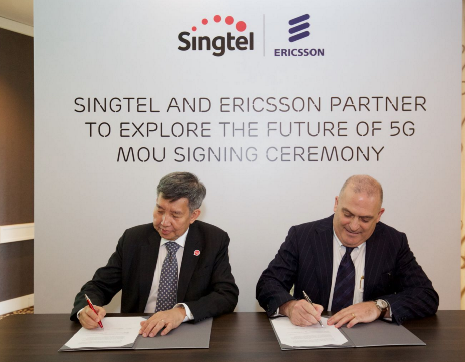 Singtel And Ericsson Partnership To Test Narrowband Network