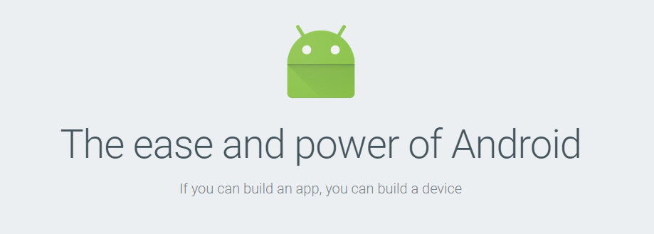 android things - power of android