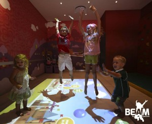 Beam Interactive Games Projector