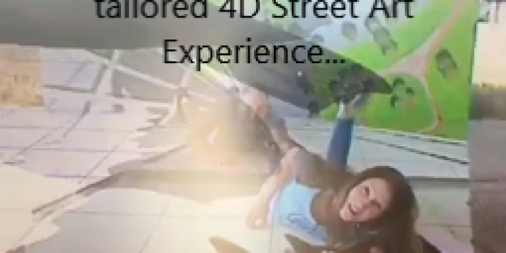 Using AR/VR with Illusionary Street Art in Corporate Events – 'Hangin' On 4D Installation by Art for After Hours