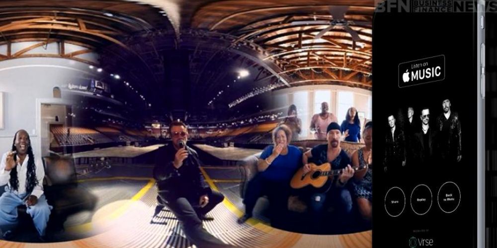 Apple Reveals Its Virtual Reality Content With A 360-degree U2 Music Video
