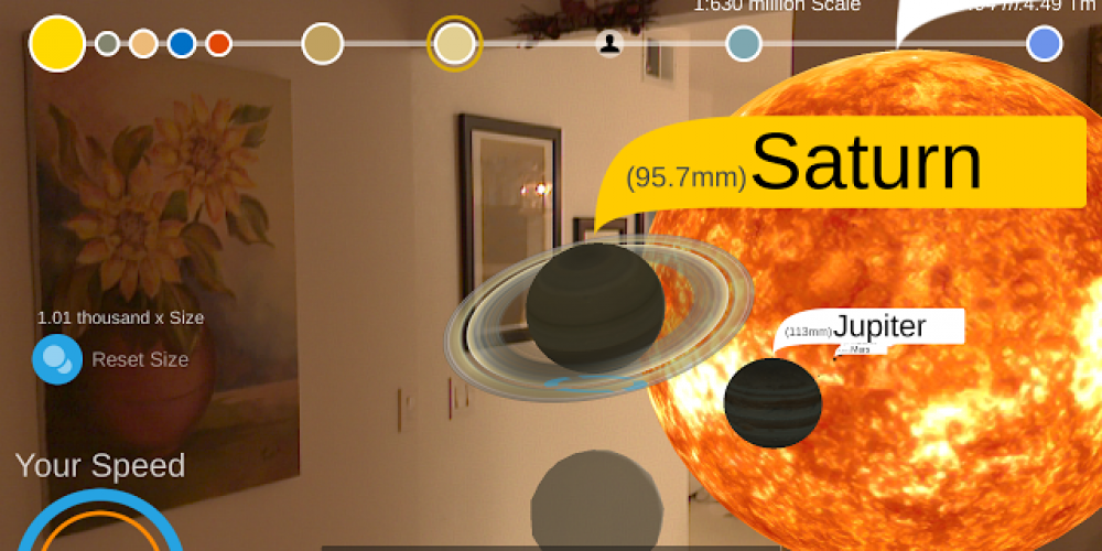 Use Solar Simulator For Developing An AR Solar System