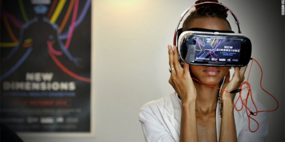 Virtual Reality Soaring in Africa