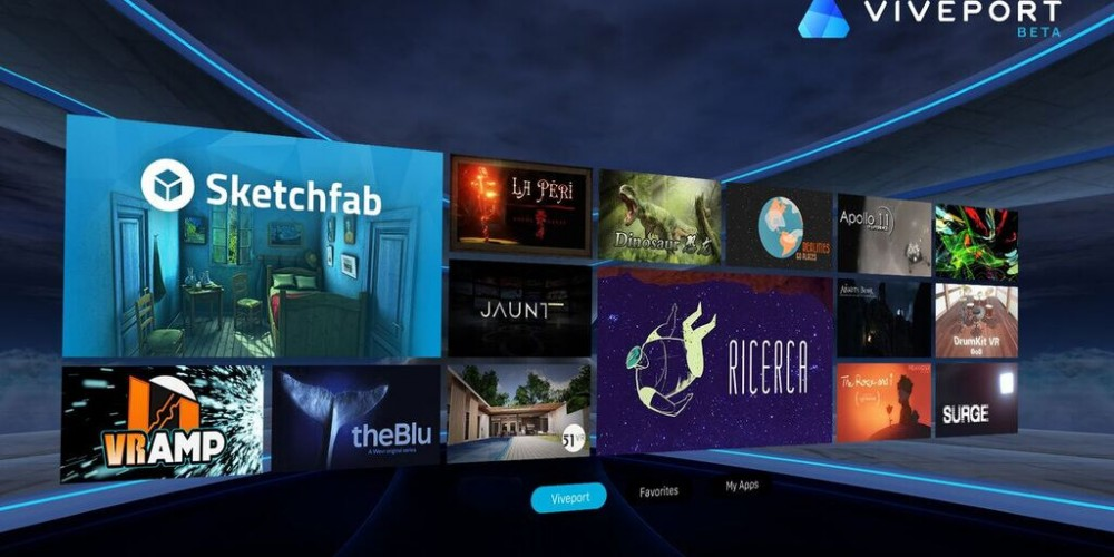 Viveport – HTC's Online App Store Is Now Available To VR Users' Globally