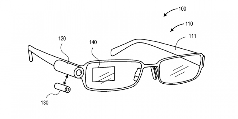 Amazon Patents Google Glass Clone