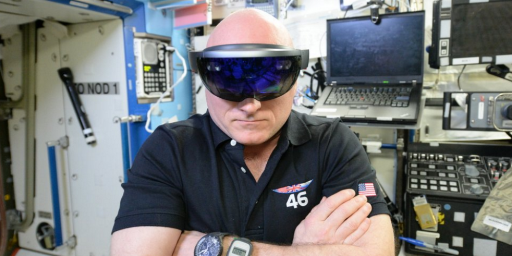 NASA Uses Microsoft's AR Headset To Help Astronauts In Space