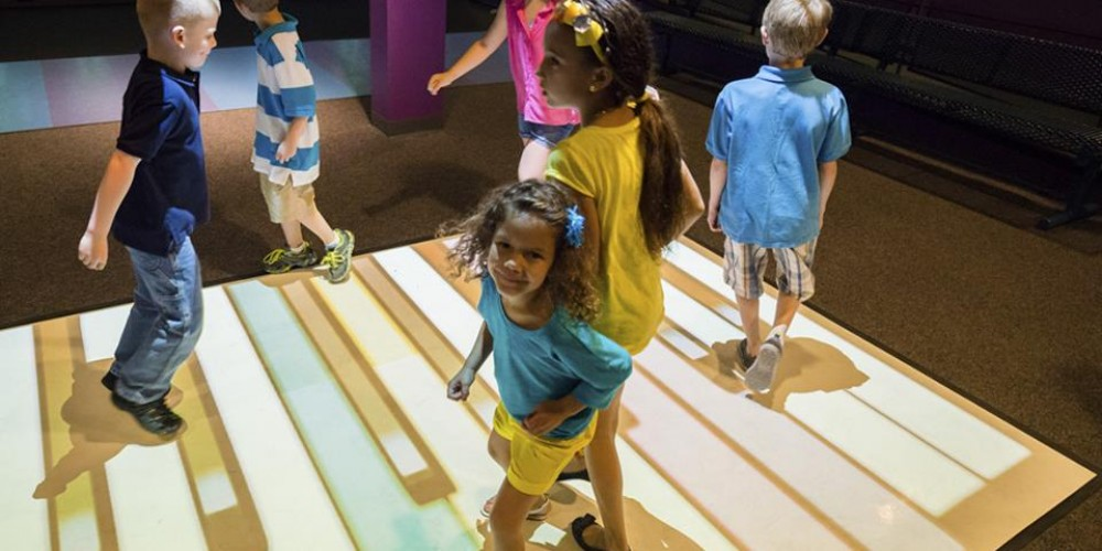 Creating Wonderful Interactive Experience for Kids with Beam Interactive Floor Game System
