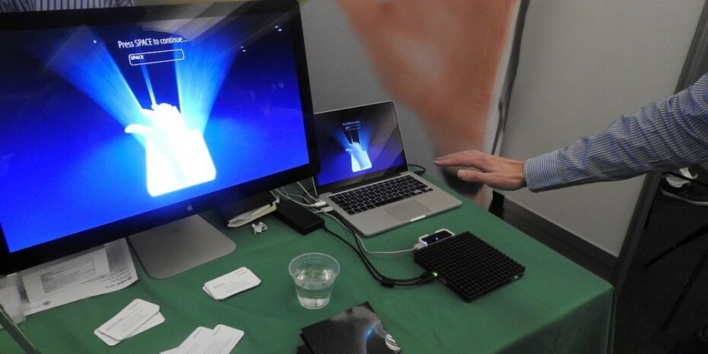 Ultrahaptics Brings A Sensation Of Touch To Virtual Reality