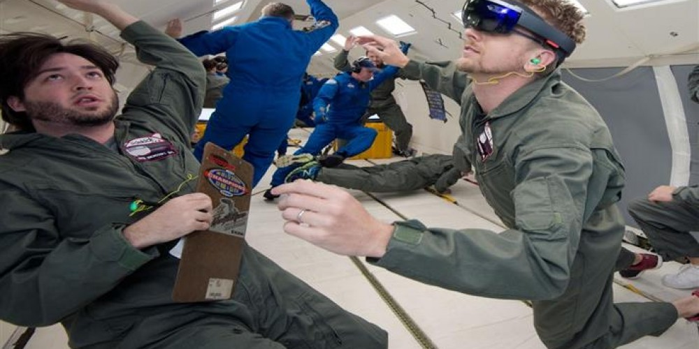 Augmented Reality Headsets For Astronauts This Week