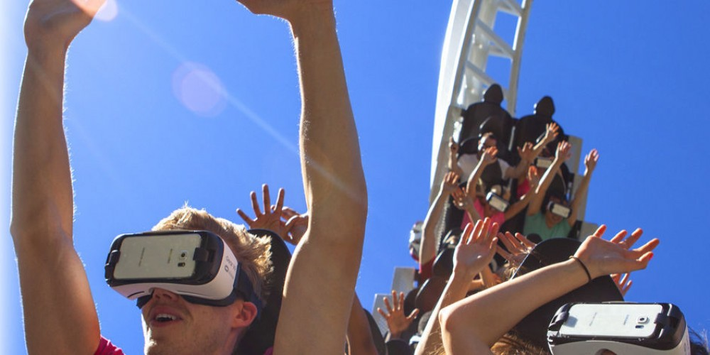 Six Flags and Samsung Partner to Launch First VR Roller Coaster