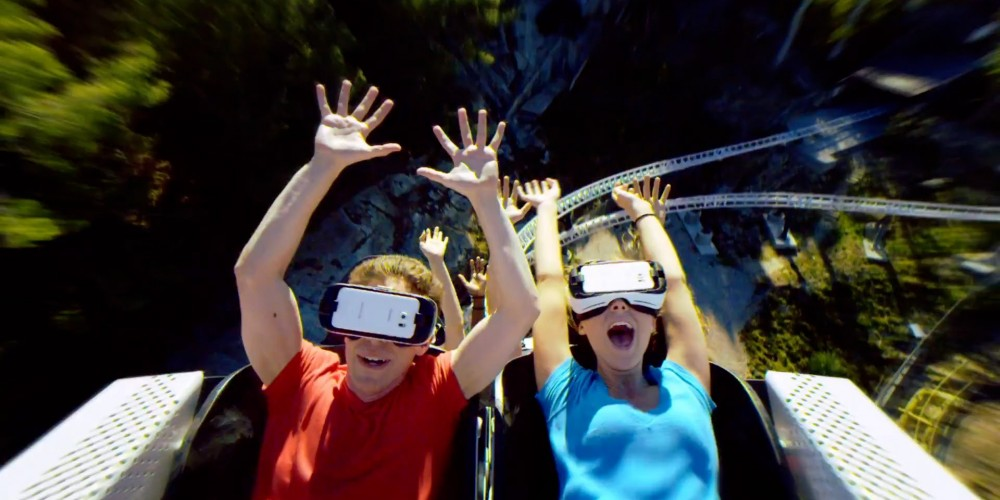 Adding Virtual Reality To a Roller Coaster