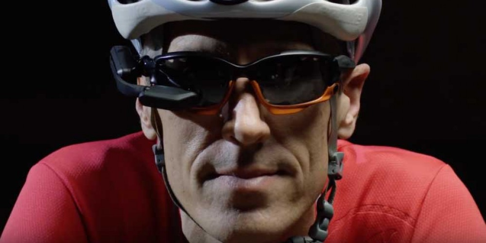 Cyclists Having Their Own Bike Assistant Augmented Reality Headset