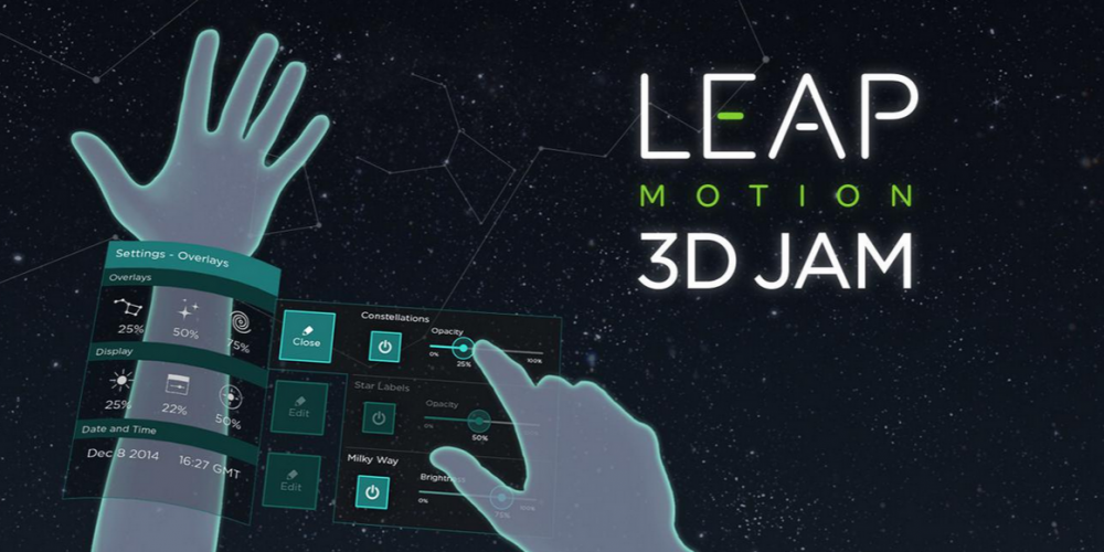 Leap Motion 3D Jam 2015 for Augmented & Virtual Reality Developers