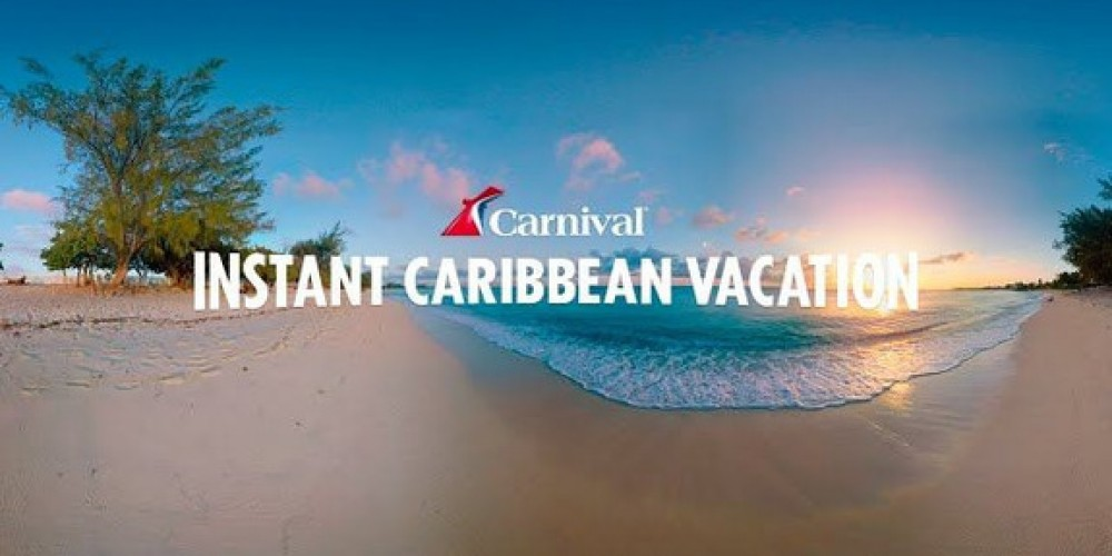 Carnival Believes That VR Will Attract More Vacationers To Cruise Ships