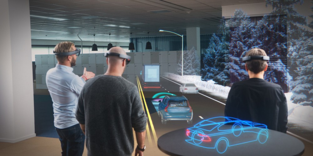 Microsoft And Volvo Partners To Bring Augmented Reality to Showrooms