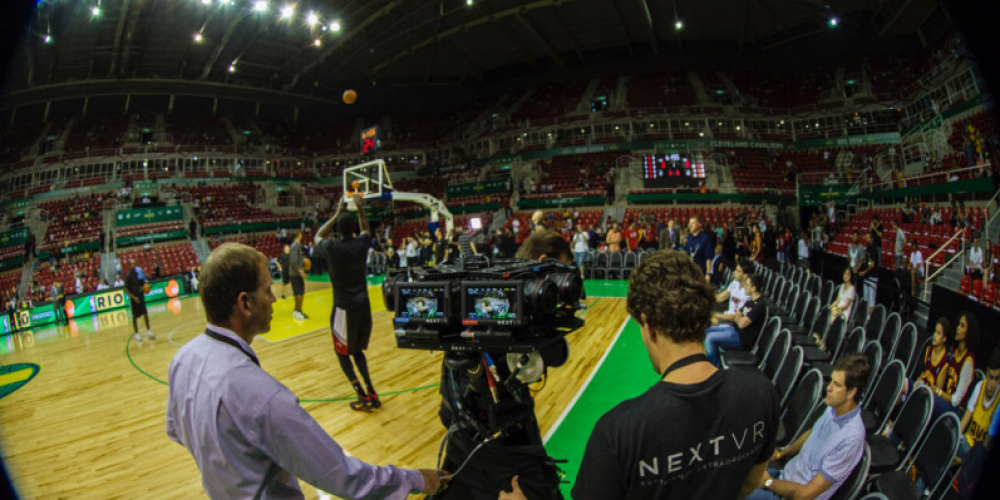NBA Plans To Broadcast Live Pro Sports Event In Virtual Reality For The First Time