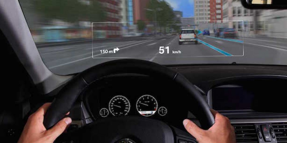 Augmented Reality in Car Windshields Proves a Distraction to Drivers