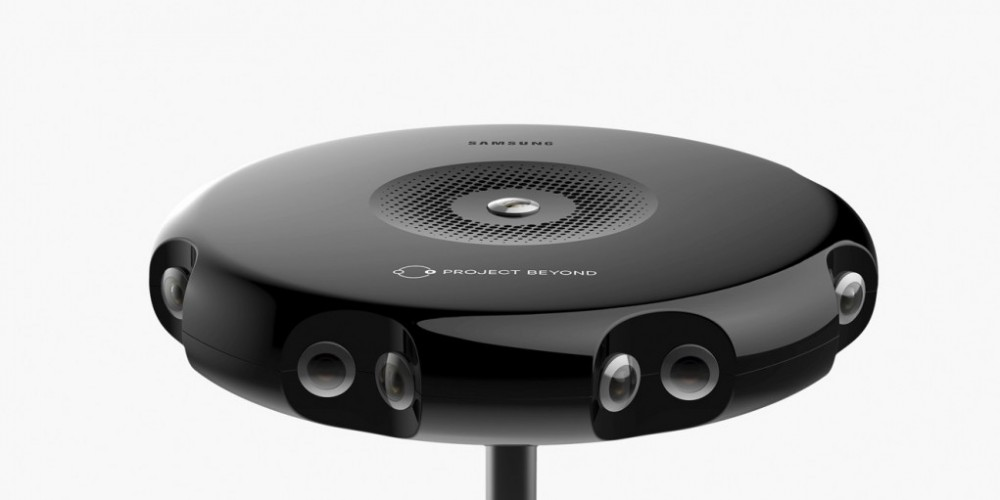 Samsung Reveals Details On Their Live Streaming Virtual Reality Camera