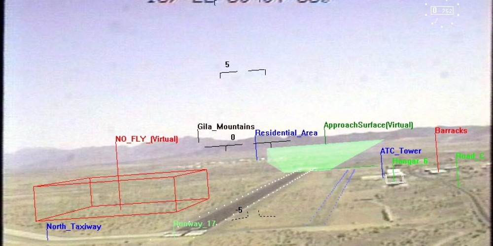 SmartCam 3D View Tested In-flight