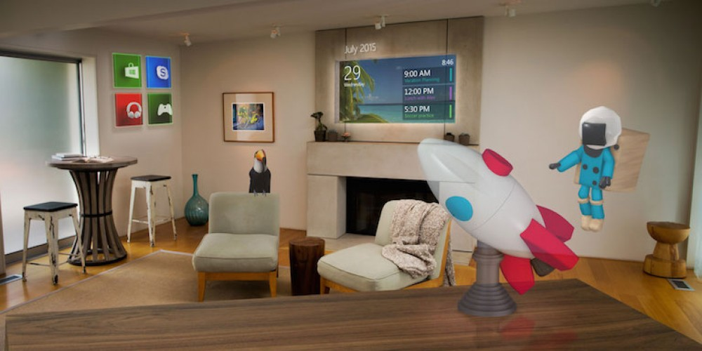 Microsoft HoloLens – From Fiction to Real Tech
