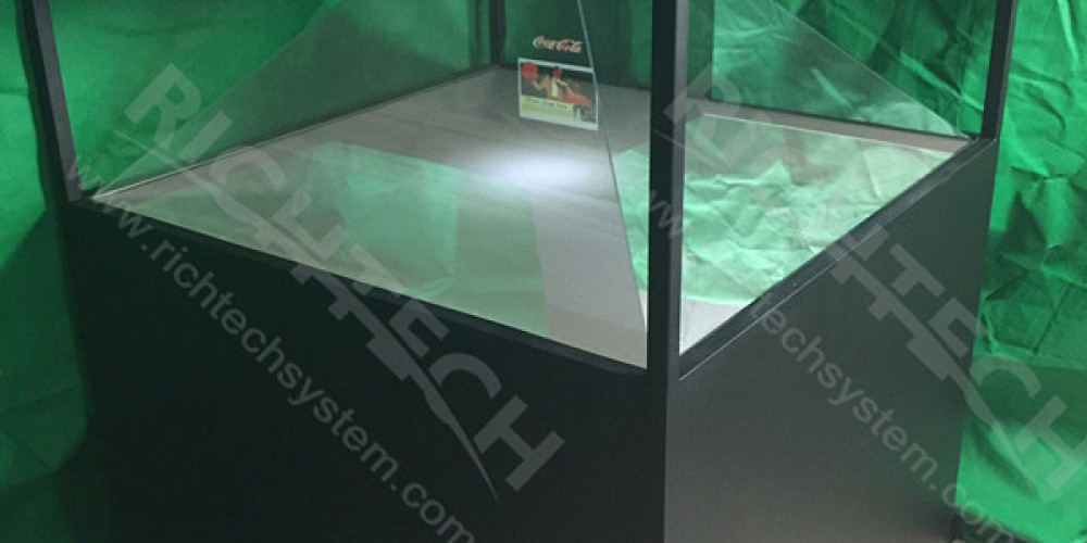RichTech Introduces Exciting New Four-Side Hologram Showcase