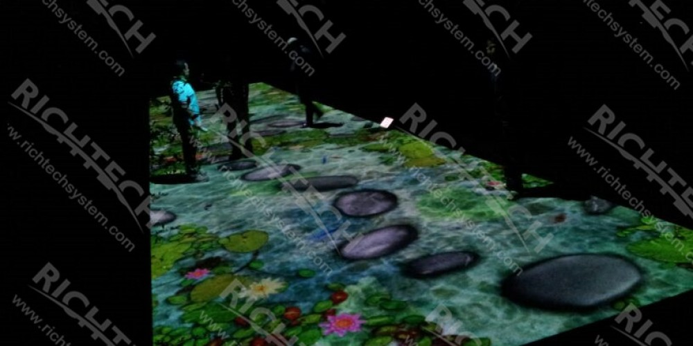 Interactive Floor for Summer Outdoor Virtual Zoo