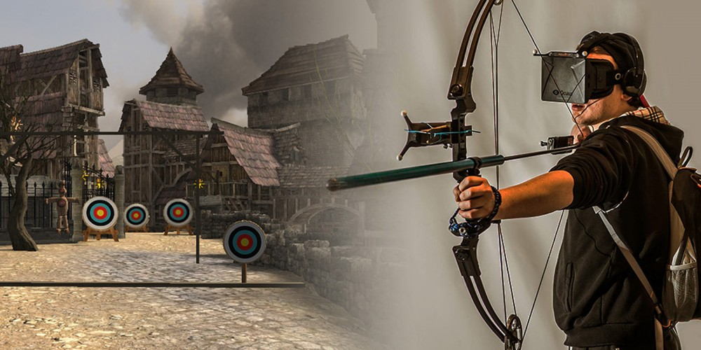 The First Virtual Reality Archery