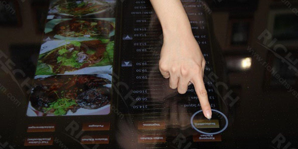 RichTech Provides Custom Interactive Table with Touch Foil