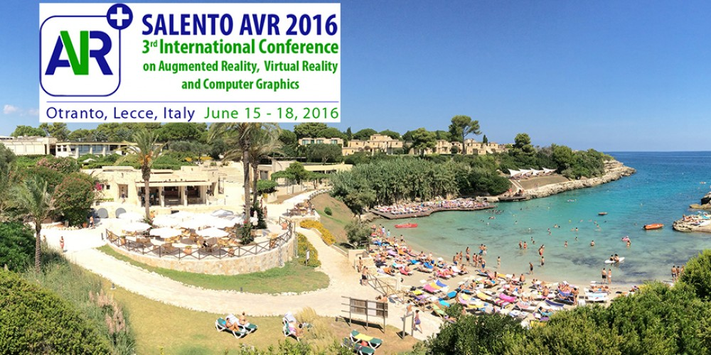 The 3rd International Conference on Augmented Reality, Virtual Reality and Computer Graphics (SALENTO AVR 2016)