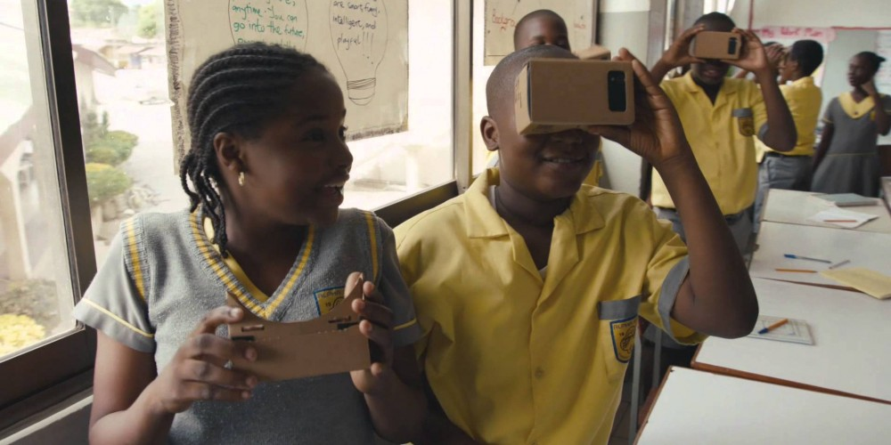 Google's virtual reality classroom system aims at empowering education
