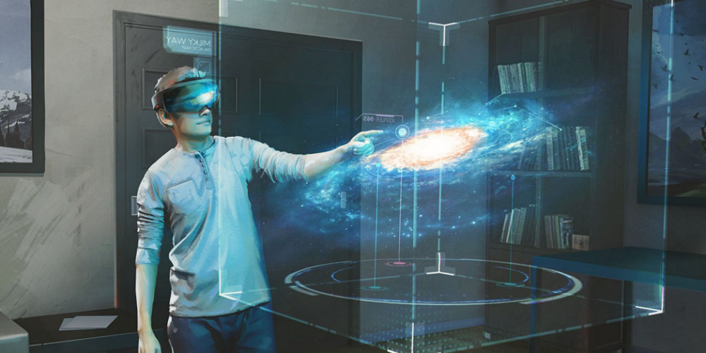 HoloLens Dev Team Showing Off Galaxy Explorer Prototype