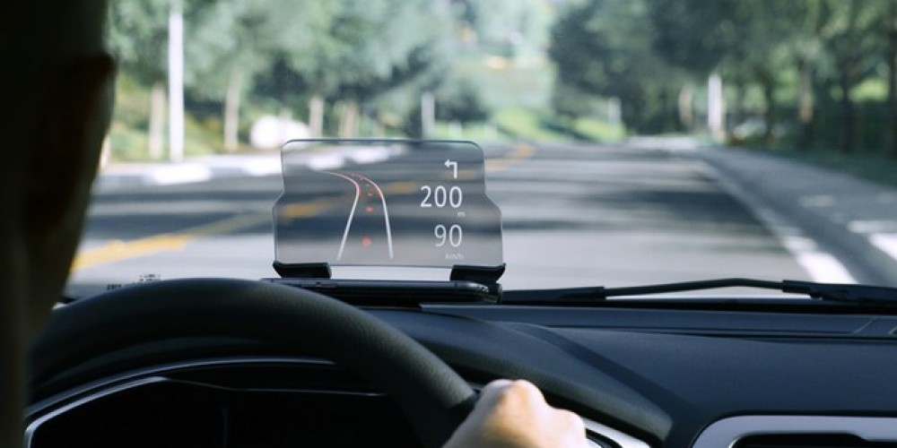 Hudway Glass Is Instrumental For Navigating The Car