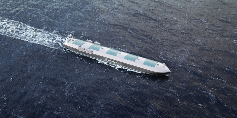 Rolls-Royce Claims Robotic Ships Will Hit The Seas By 2020