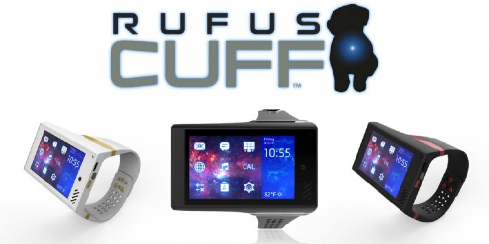 Rufus Cuff – The Wearable Tablet Is Here!