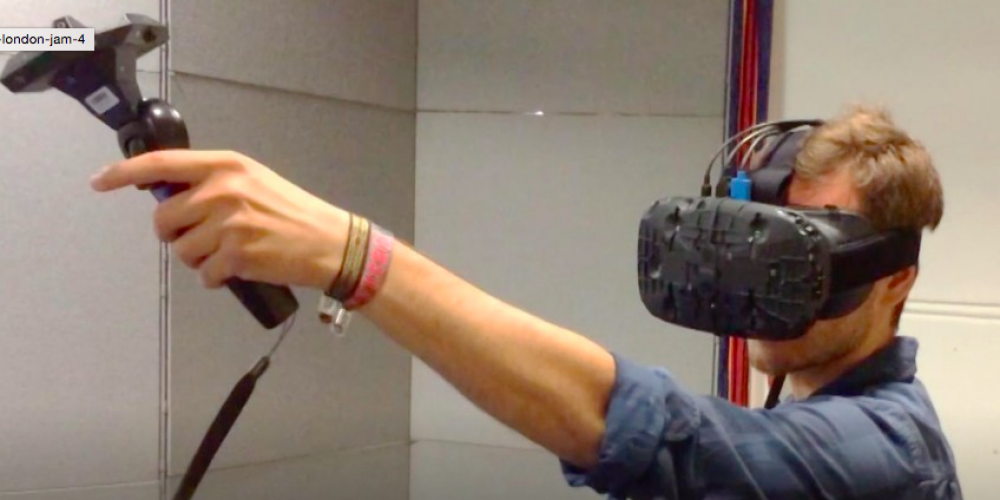An Insider View Of The HTC VIVE VR JAM Demo
