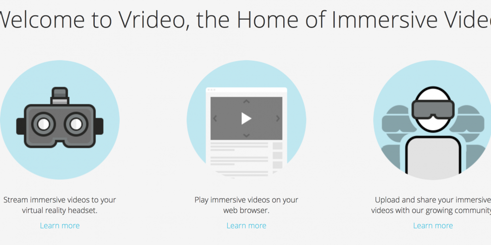 Vrideo – The Home of Immersive Video