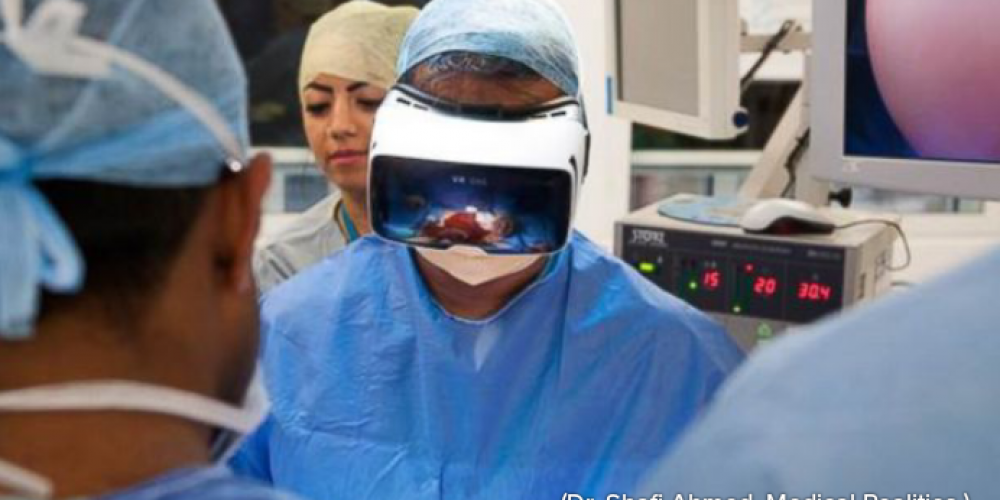 First-ever Virtual Reality Operation Live-Streamed Worldwide