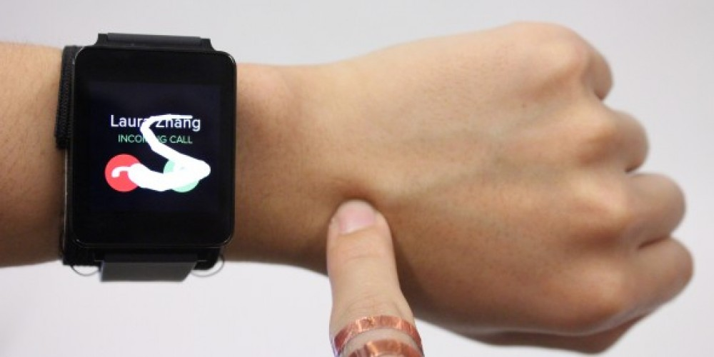 Wearable Technology: Skin Track Converts Your Arm Into A Touchscreen