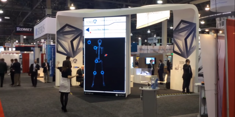 Tecres' Interactive Mirror and Augmented Reality App
