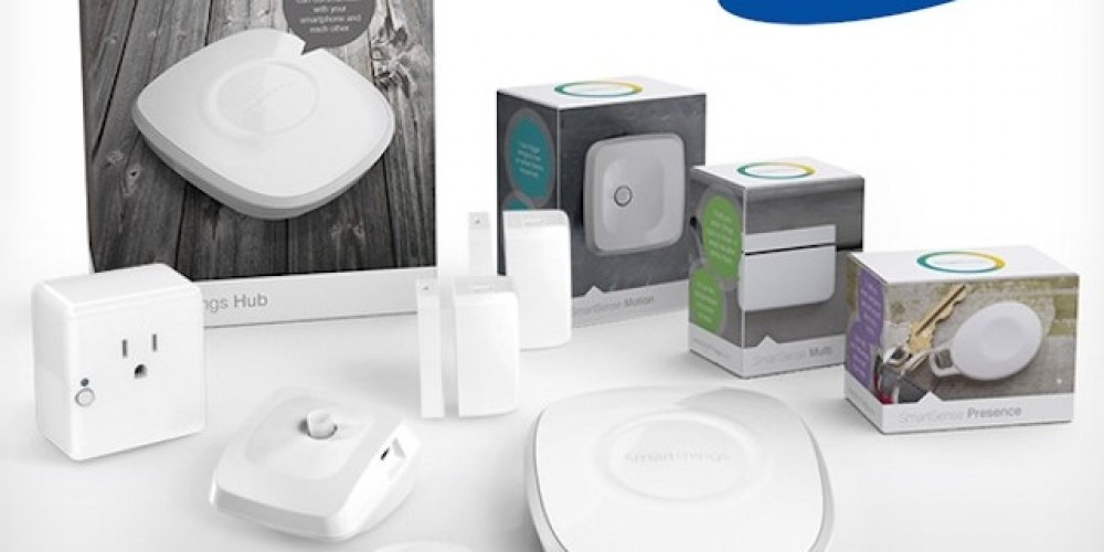 Samsung Launches SmartThings IoT Hub and Connected Devices