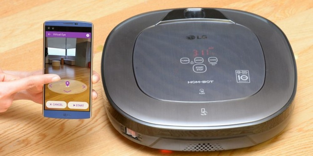 LG Brings Hom-Bot Vacuum Cleaner With Home Security And Augmented Reality Features