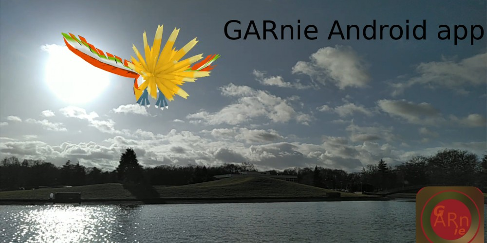 GARnie app, give life to your 3d models with Augmented Reality