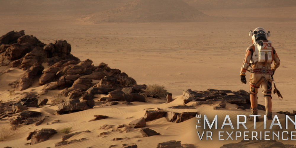 The Martian: Virtual Reality Liftoff From Fox Innovation Lab