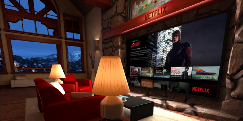 Netflix Launches Virtual Reality Apps on Google Play