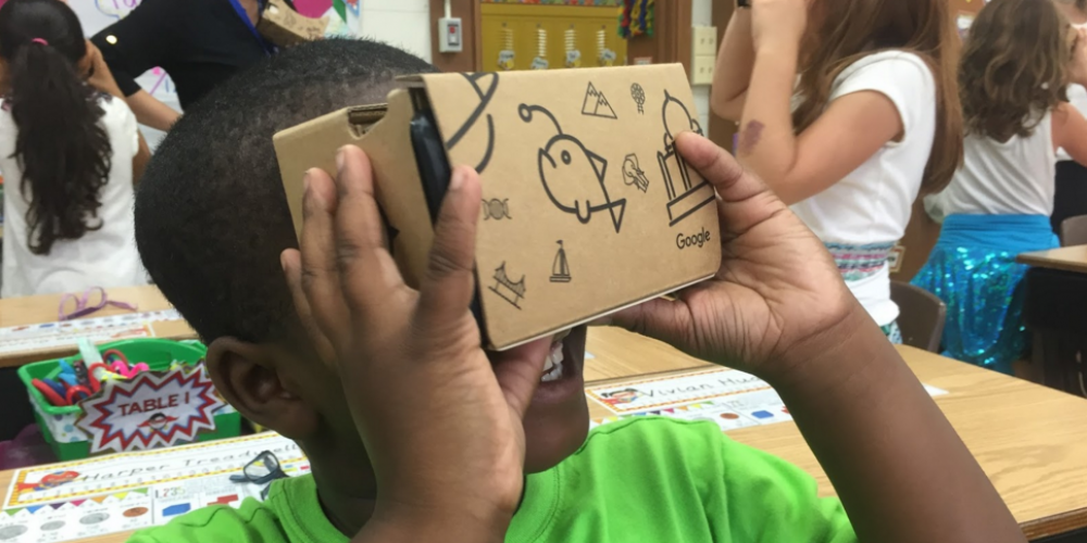 Google's Expeditions Pioneer Program provides Bronx students with unique VR experience